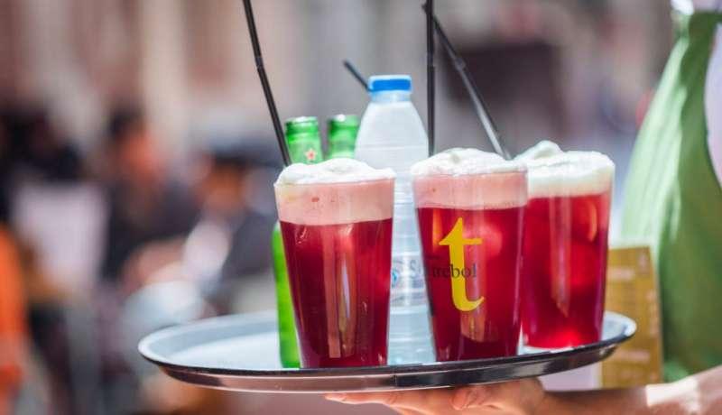 Bebida para combatir el calor